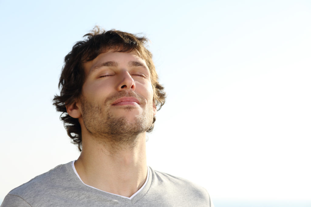 Durchatmen - ein Tipp aus dem Notfallplan gegen akuten Stress