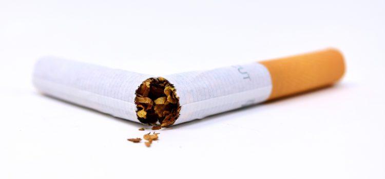 Striktes Rauchverbot bei Stress